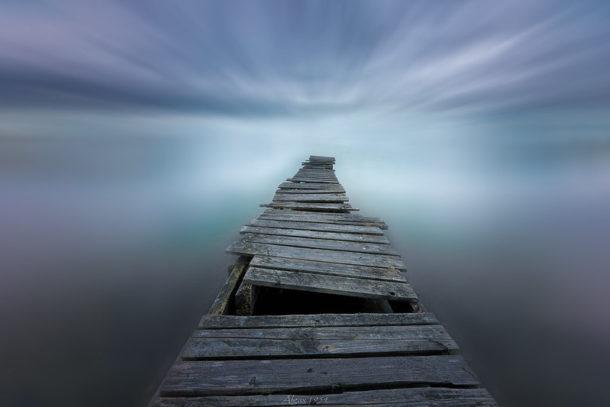 Camino al infinito. Fotografía destacada